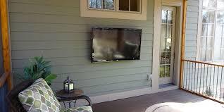 outdoor tv installation greenville sc