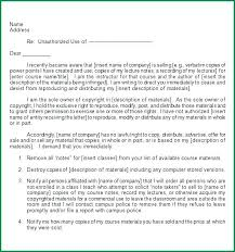 Cease And Desist Template Free Cease And Desist Letter Template For