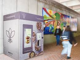 Healthy Vending Machines Ireland Best LeCupboard Vending Machine Dispenses Healthy Vegan Meals Business