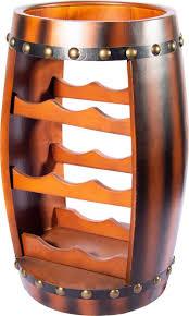 <b>Мини</b>-<b>бар</b> напольный Brigant Винная <b>бочка</b>, 47216, коричневый ...