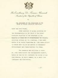 file ambador john banks elliott copy 1 2 accreditation from president kwame nkrumah 07 1960г англ 1 jpg