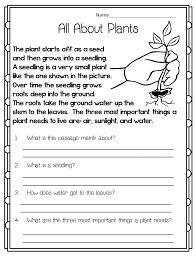 First Grade Nonfiction Reading Comprehension Worksheets ...
