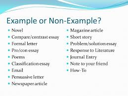 expository writing an expository essay gives readers information  6 example