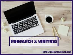 Research Writing The Cafe Scholar