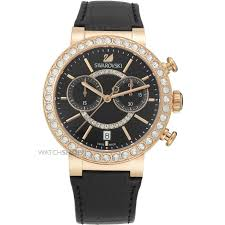 "swarovski watches official swarovski stockist watch shop comâ""¢ ladies swarovski citra sphere chronograph watch 5055209"
