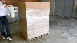 Plastic Furniture Wrap Stretch Wrapping Pallets Understanding Hand Dispensers Youtube
