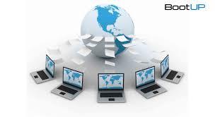 Komputer klien digunakan sebagai pelantara untuk mengakses informasi/data yang terdapat di komputer server. Pengertian Jaringan Komputer Fungsi Dan Jenisnya Bootup Ai Blog