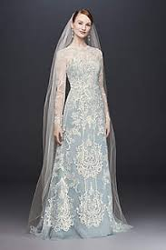 long sleeve lace wedding dresses david s bridal