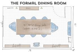 dining room furniture layout. here sara breaks down three ways to get more out of your dining room layout furniture r