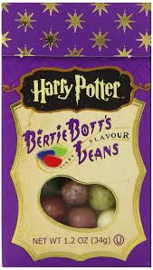 Harry Potter Jelly Bean Flavors Chart Jelly Belly Bertie Botts Every Flavor Beans 20 Harry Potter Flavors Pack Of 2