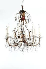 baccarat crystal chandelier antique french