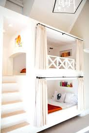 bunk beds diy bunk bed tent cute tents with red and blue colors ideas ladder
