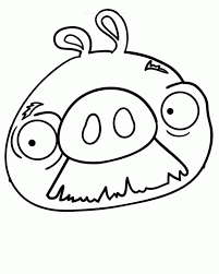 Small Picture Mustache Pig Coloring Page Coloring Home