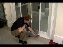 replacement of sliding glass door screen