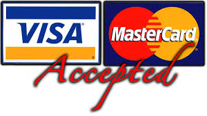 Image result for we accept visa mastercard logo