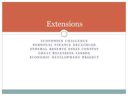macroeconomics workshop ppt  extensions economics challenge personal finance decathlon