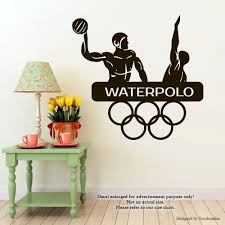 Wall Decal Size Chart Amazon Com Sport Handball Wall Decals Olympic Games