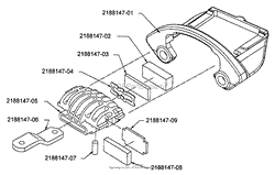 bunton, bobcat, ryan 942211a 218es 18hp b&s w 52 side discharge Bobcat Mower Parts Diagram at Bobcat 942211 Zero Turn Mower Wiring Diagram