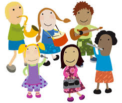 Image result for cartoon pics of kids with musical instruments