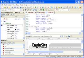 cascade style sheet css editor by enginsite edit cascading style sheets with ease