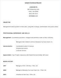 Resume Outline Examples Federal Resume Samples Format Federal Resume