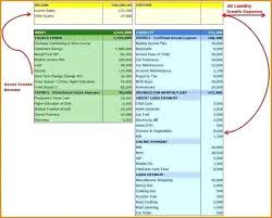 Create Cash Flow Diagram Excel Personal Financial Statement Spreadsheet Lovely How To Make A Cash