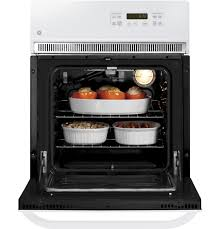 Electric Wall Oven 24 Inch Gear 24 Electric Single Self Cleaning Wall Oven Jrp20wjww Ge