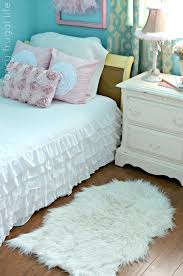 white faux rug small fur rugs designs large
