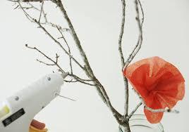 Paper Flower Branches Diy Tissue Paper Wedding Centerpiece Wedding To Be