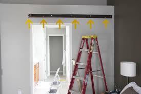 easy diy barn door track. Barn Door Track Installation Implausible HOUSE TWEAKING Home Interior 29 Easy Diy