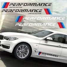 <b>2pcs Car</b> Body <b>Sticker</b> M Performance <b>Auto Sticker Car</b> Door <b>Decal</b> ...