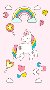 Cartoon Unicorns Wallpapers - Wallpaper ...