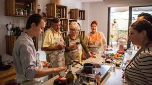 spanish paella cooking class barcelona expedia