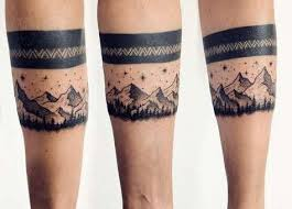 Tetování Pro Muže Na Ramenních Náramcích Tetovací Náramky Hodnota