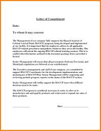 5 Commitment Letter Templates Farmer Resume