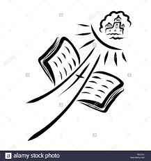 Le Chemin Menant à La Cité Céleste La Croix Et La Bible Banque D