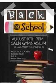 Back To School Invitation Template 2 830 Customizable Design Templates For Back To School Postermywall