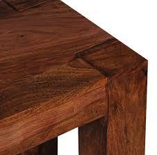 Wohnling Esszimmer Sitzbank Mumbai Massiv Holz Sheesham 160