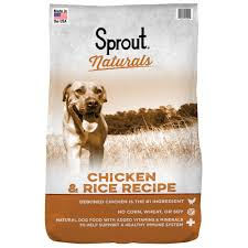 sprout naturals en rice recipe dog food