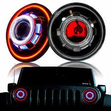 Jeep Lights For Sale On Sale One Set 35w 7inch Hi Lo Hid Bulb Car Headlight