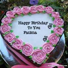 Happy Birthday Fatima Video And Images In 2019 Name Happy