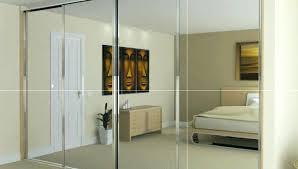 bedroom closet mirror sliding doors custom ideas unbelievable design with mirrors built in for fitted wardrobes alternative door