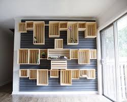 diy wood furniture projects. diy crate wall wood furniture projects s