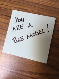 If you are not a positive role model, you cannot be a leader - Turning  Managers into Leaders