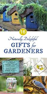 16 naturally delightful gifts for gardeners
