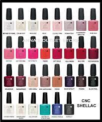 Nyc Nail Polish Color Chart Opi Gel Nail Polish Color Chart Cnd Shellac Uv Nail Polish