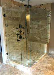 frameless sliding shower door oil rubbed bronze completely sliding shower door in home