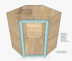 kitchen cabinet building plans woodworking corner wall how build cabinets