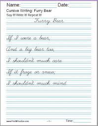Hand Writing Sheets 50 Cursive Writing Worksheets Alphabet Sentences Advanced
