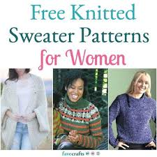 Knitted Sweater Patterns